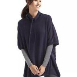 Gap Body Dark Indigo Sweater Poncho